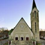 Église St-Fidèle. Fonds Daniel Abel