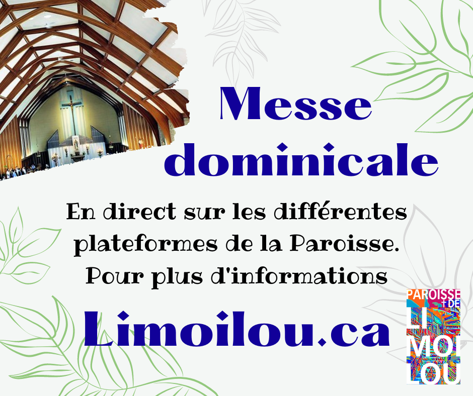 Messe dominicale paroisse 2021