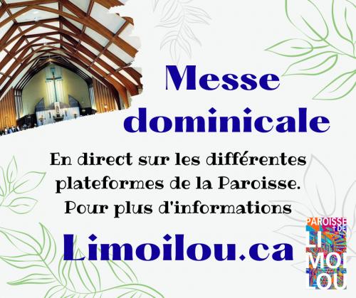 Messe dominicale paroisse 2021